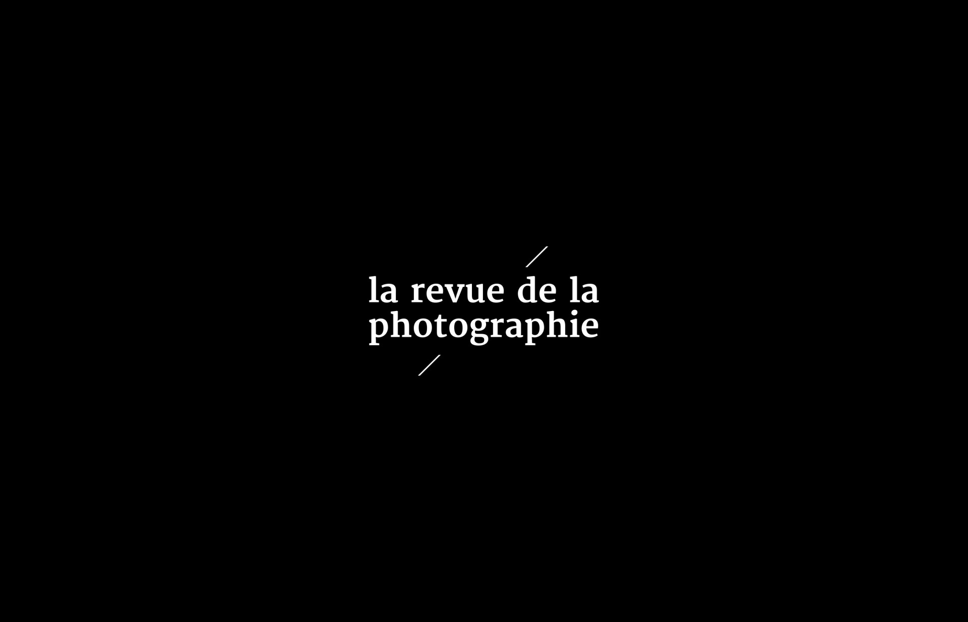 BS La Revue de la Photographie
